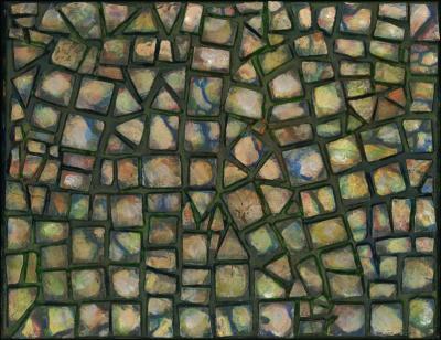 Pebbles mosaics, 3 of 4