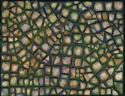 Pebbles, mosaics, 4 of 4