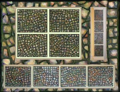 Pebbles Mosaics, arrangements