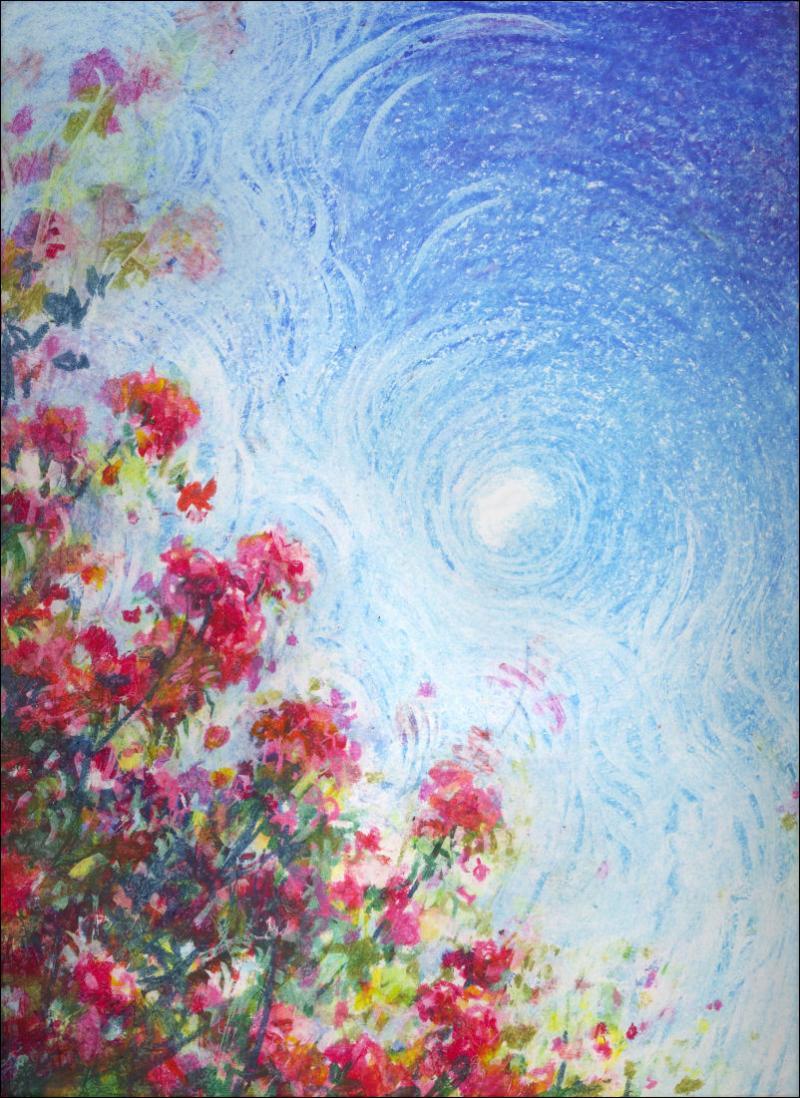 Oil Pastels Nikki Artwork
