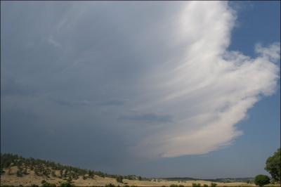 Storm cloud, Montana - mid July