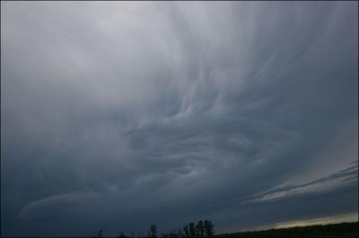 Evening storm - Stony Plain, Alberta