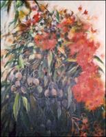 Flowering Eucalyptus Bush Stage 2