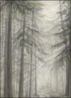 Salt Spring Island Fog, detail