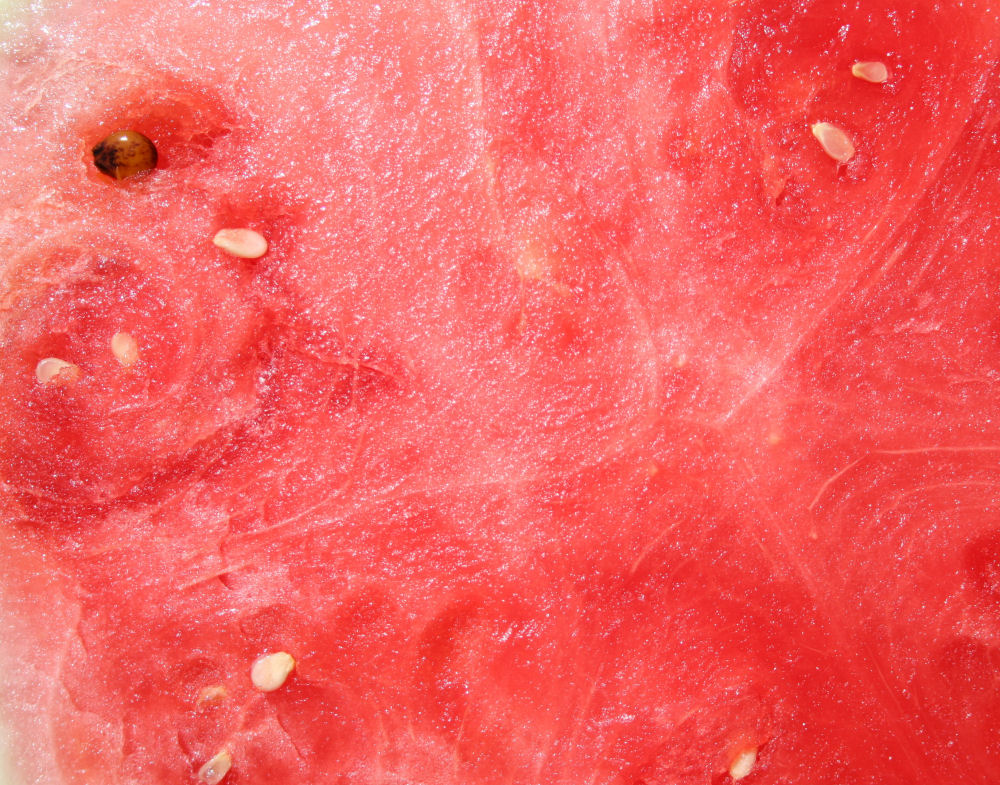 Watermelon, apparently seedless