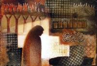 Prayer, Mixed Media collage by Virginia Wieringa