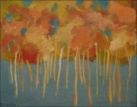 September Clearing - Oil painting by Artist Chris Bolmeier. Please contact Chris if interested.