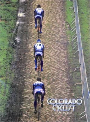 On the cover of Colorado Cyclist