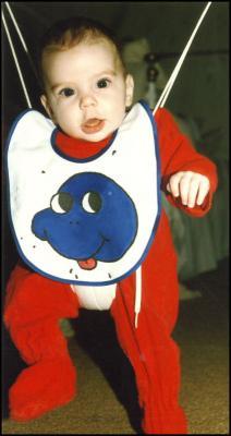 Baby's bib, 1987
