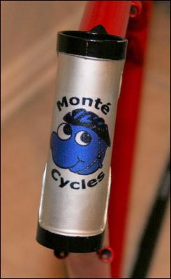 Monte Cycles bike decal