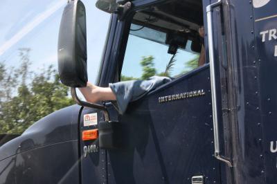 The driver of a semi, Hwy 40 near Nashville, TN
