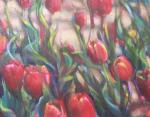 Dandelions, detail