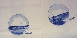 Seacape in blue monotones, 1989