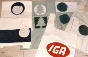 The 1989 original Earthbags sewn at first strictly for personal use