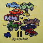 11 toy vehicles