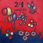 24 candies