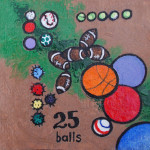 25 balls