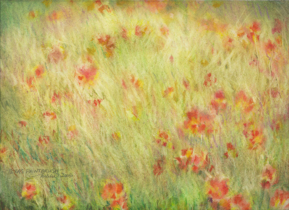 Texas Paintbrush, Fort Worth, Texass - sold
